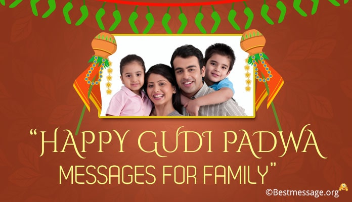 Gudi Padwa Messages for Family - Gudi Padwa Image, Photo