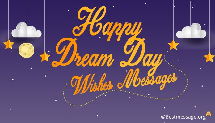 Happy Dream Day Wishes Messages Image