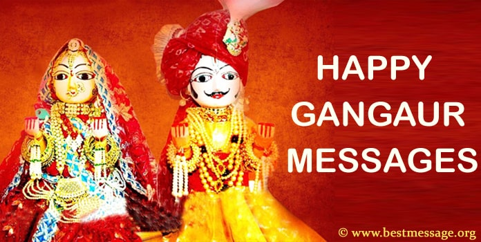 Happy Gangaur Wishes, Gangaur Messages Images