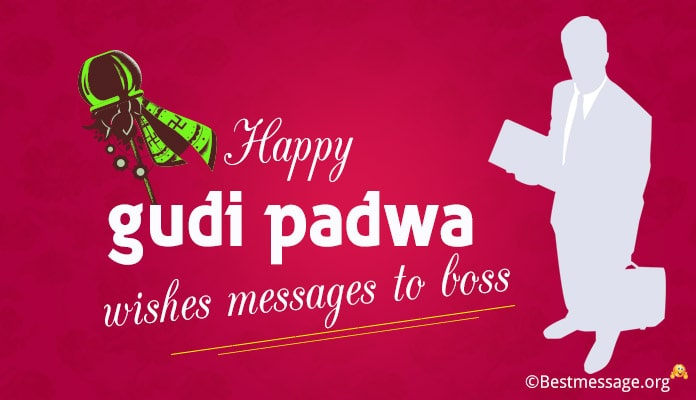Happy Gudi Padwa Wishes to Boss, Text Messages Image