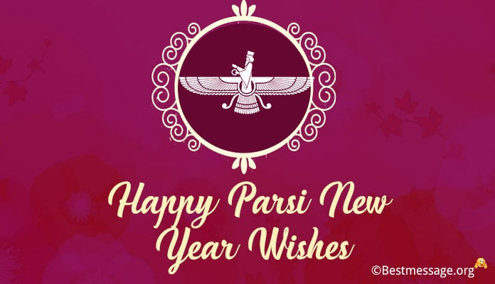 Parsi New Year Wishes Messages, Navroz new year greetings images