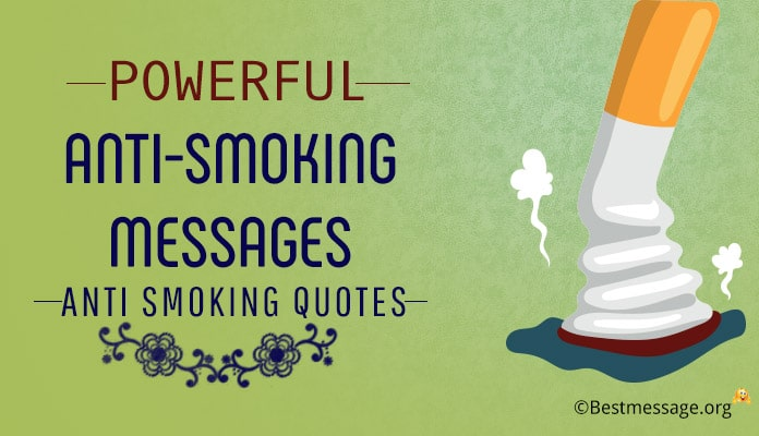 Powerful Anti-Smoking Messages Images