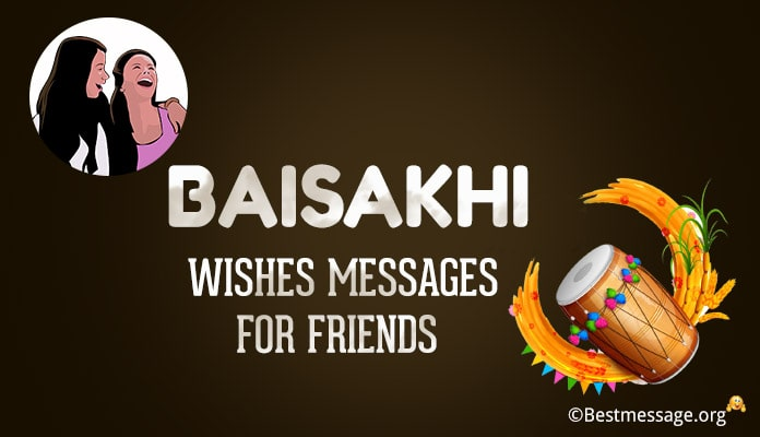 Baisakhi Wishes for Friends - baisakhi Messages Image