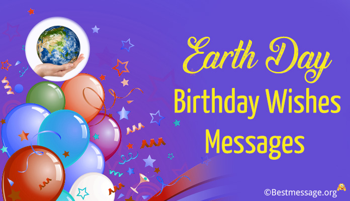 Earth Day Birthday Messages - Birthday Wishes Image