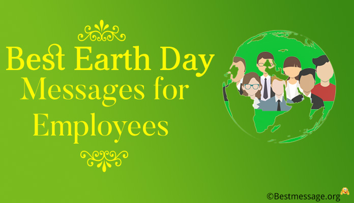 Earth Day Messages for Employees