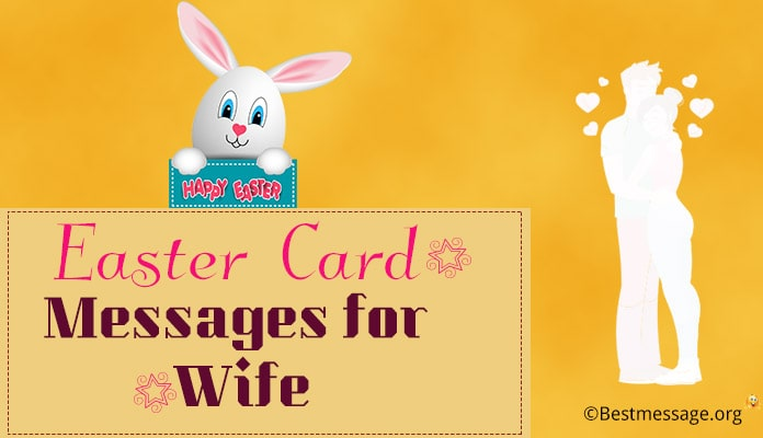 Easter Card Messages for Wife