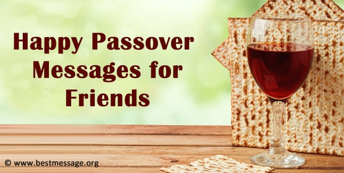 Passover Messages for Friends - Happy Passover Images