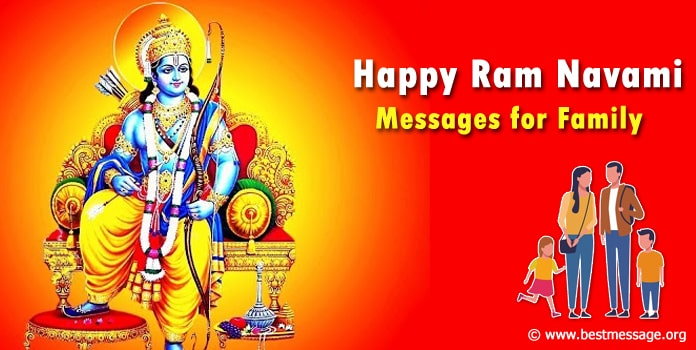 Ram Navami Wishes for Family - Ram Navami Messages Images