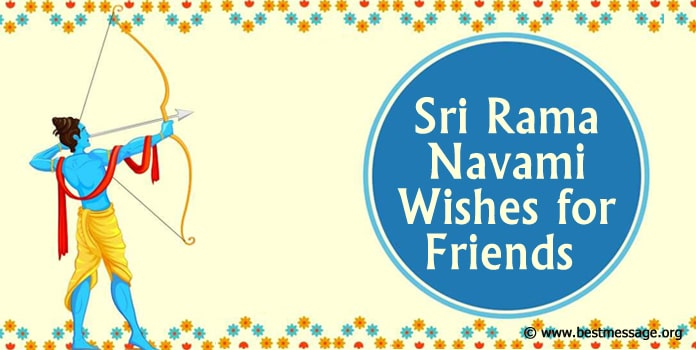 Sri Rama Navami Wishes for Friends - Ram Navami Images