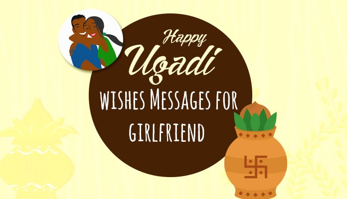 Ugadi Wishes Messages for Girlfriend - Greetings Image