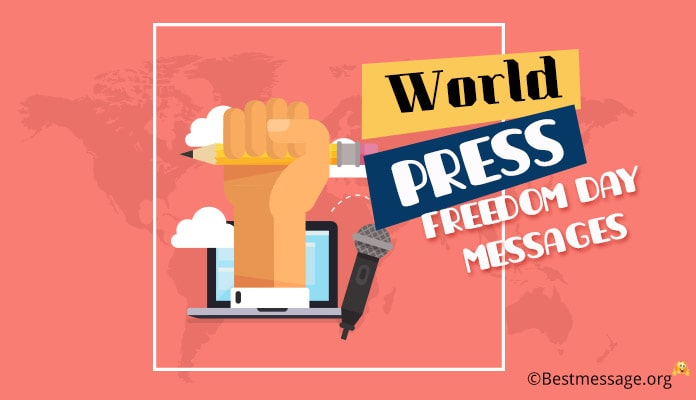 World Press Freedom Day Messages, Quotes