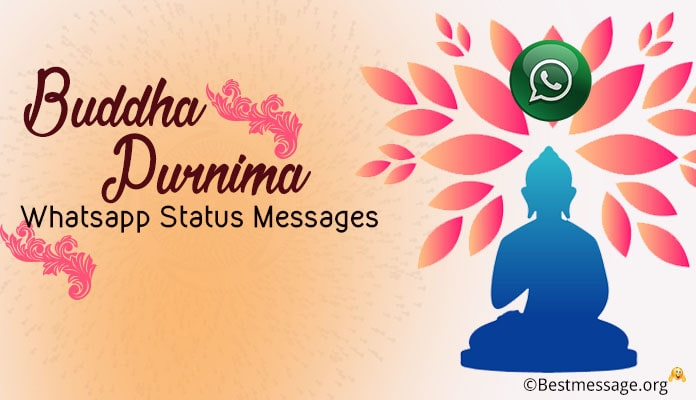 Buddha Purnima Whatsapp Status - Buddha Purnima Messages