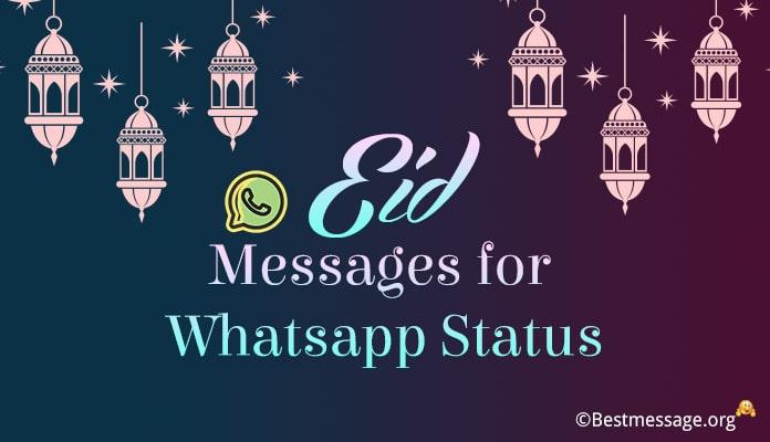 Eid Mubarak WhatsApp Status Messages – Eid Mubarak Status Image