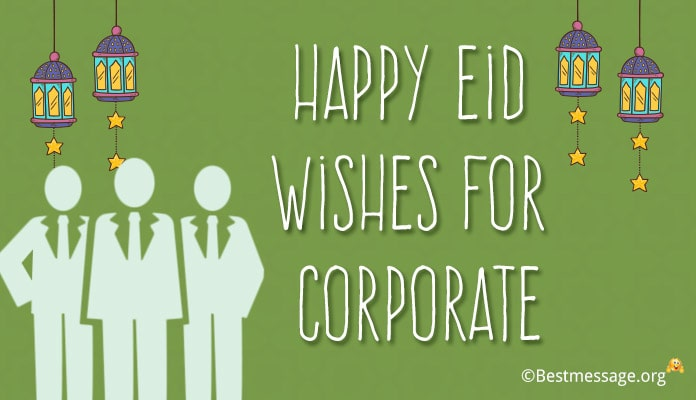 Happy Eid Wishes for Corporate