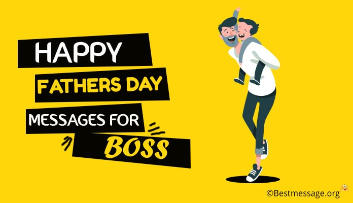 Happy Fathers Day Wishes Messages for Boss