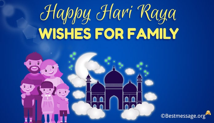 Selamat Hari Raya Aidilfitri Wishes Messages for Family