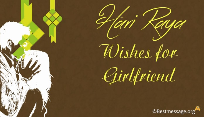 Hari Raya Wishes Messages for Girlfriend