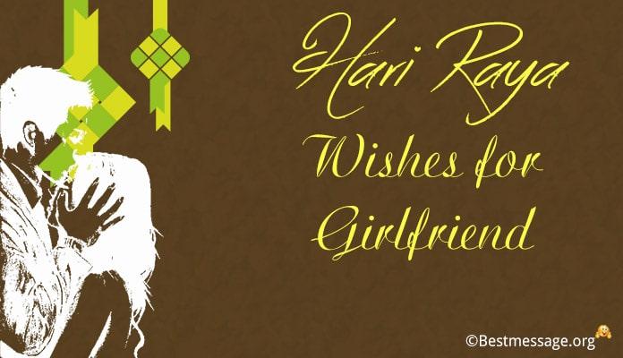 Hari Raya Wishes Messages for Girlfriend