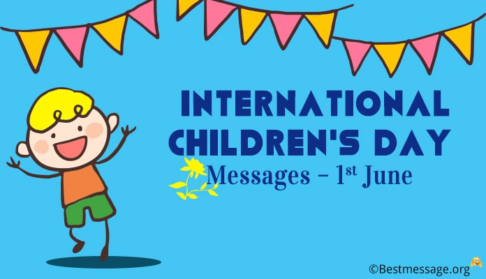 Happy International Children's Day Messages - children's day Wishes Images