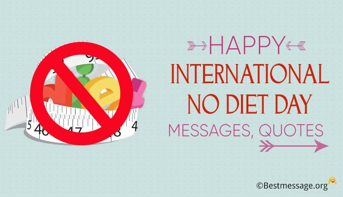 International no Diet Day Messages Image