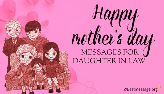 Happy Mothers Day messages for daughter in law