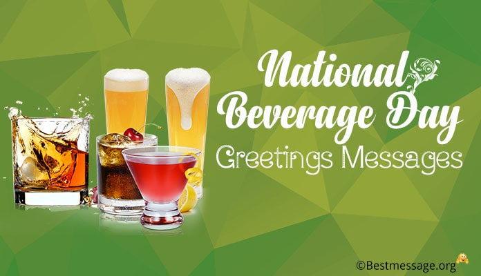 National Beverage Day Greetings Messages