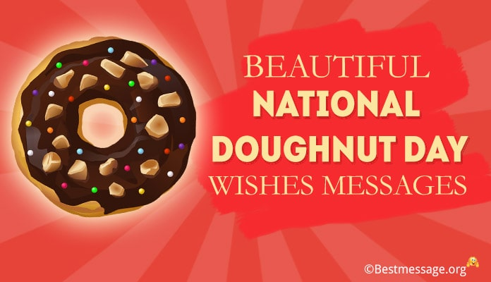 National Doughnut Day Wishes Messages Image