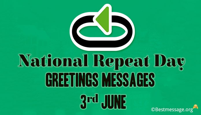 National Repeat Day Greetings Messages Image