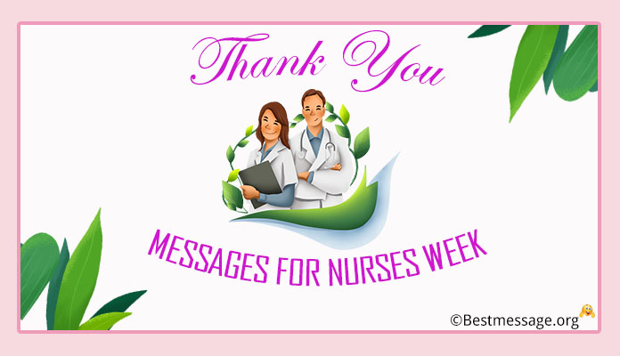 Thank You Messages for Nurses Week