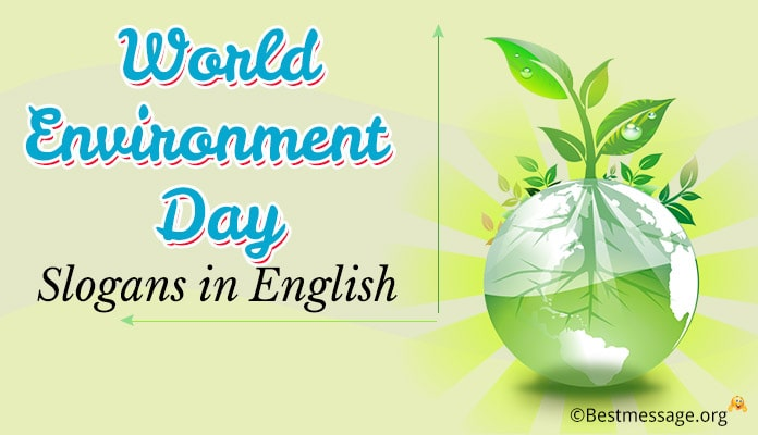 Catchy World Environment Day Slogans