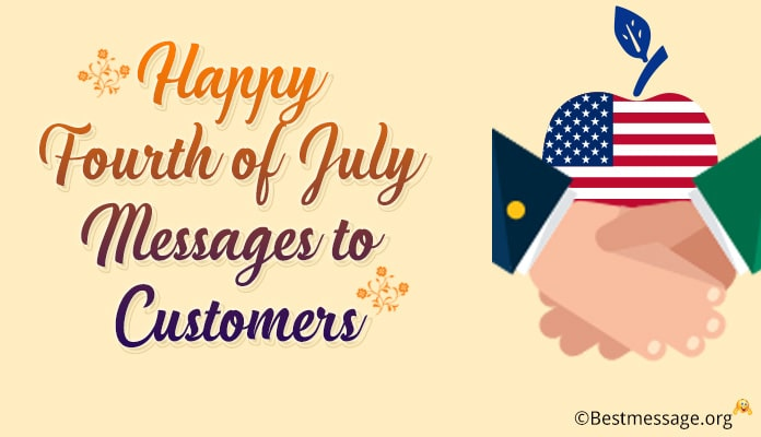 Fourth of July Messages to Customers