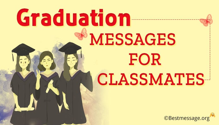 Graduation Messages for Classmates - Thank you Messages Image