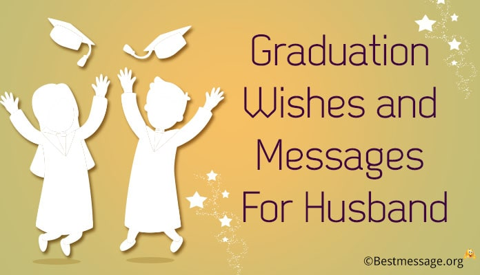 Graduation Messages for husband - Congratulations Wishes Image