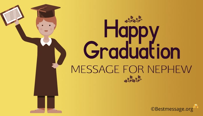 Graduation Wishes for Nephew - Congratulations Messages Image