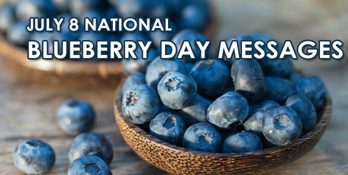 National Blueberry Day Messages, Quotes and Greetings