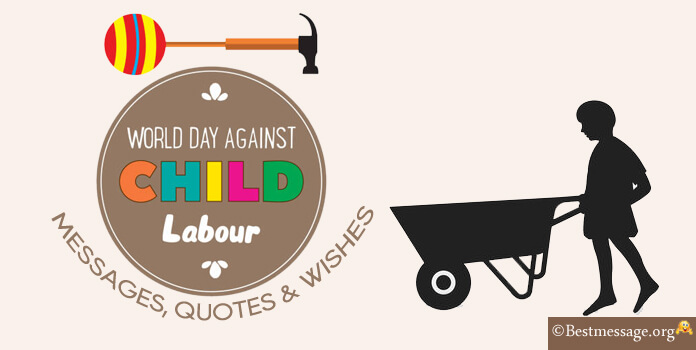 World Day Against Child Labour Wishes - Messages Image