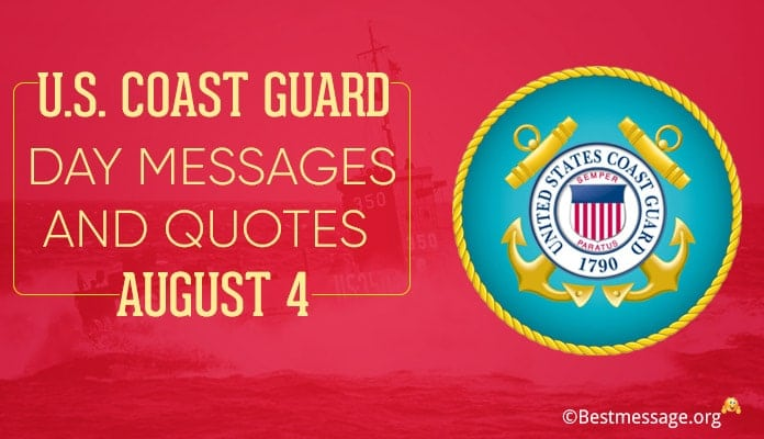 U.S. Coast Guard Day Messages, Quotes