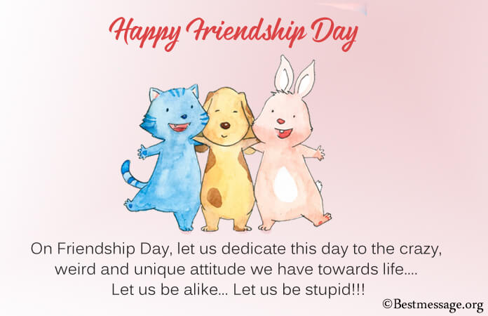 Funny Friendship Day messages images Wishes 2021