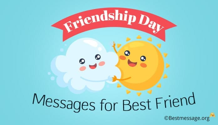 Friendship Day Messages for Best Friend – Friendship Day Wishes Image