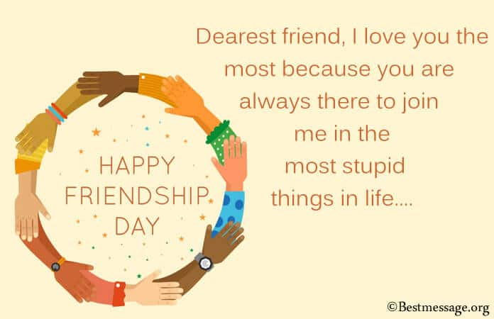Happy Friendship Day Messages, Best Friend Wishes Images