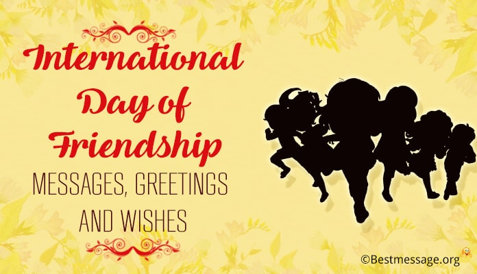 International Day of Friendship Messages, Wishes image