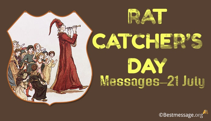 Rat-catcher's Day Messages, Greetings image