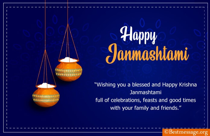 Happy Krishna Janmashtami 2021 Wishes, Janmashtami Wishes