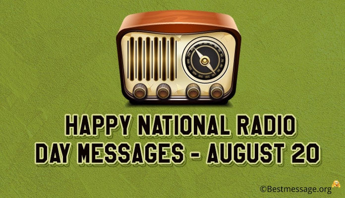 Happy National Radio Day Messages, Radio Quotes and Wishes