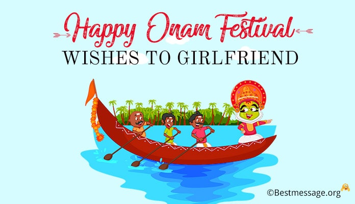 Onam Wishes Messages to Girlfriend