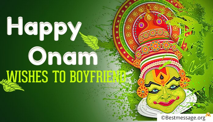 Onam Wishes to Boyfriend, Onam Messages, Greetings