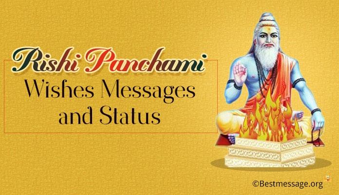 Rishi Panchami Wishes Rishi Panchami messages, Greeting Images