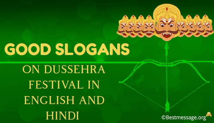Good Slogans on Dussehra Festival