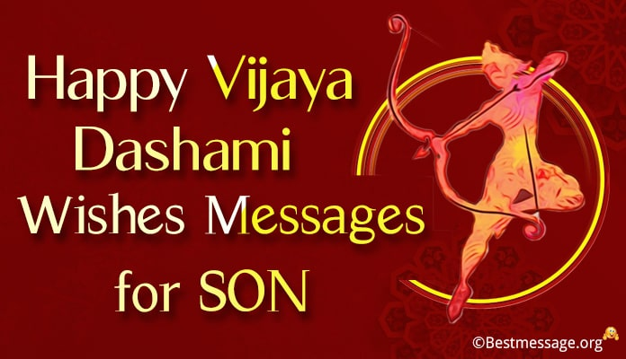 Dussehra Messages for son