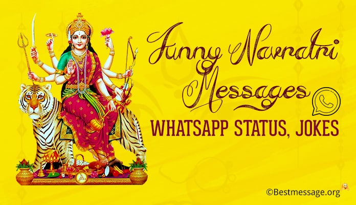 Funny Navratri Messages, Navratri WhatsApp Status, Funny Jokes